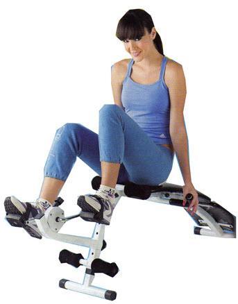 เครื่องออกกำลังกาย Sit up มีจักรยาน
