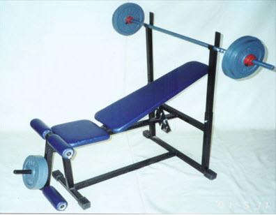 เครื่องออกกำลังกาย เก้าอี้บารเบลเล็กธรรมดา