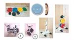 ชุดน้ำหนักโอลิมปิค หุ้มยาง ชุด 200 กิโลกรัม (FMM5056 - VERTICAL WEIGHT TRESS/BAR HOLDER)