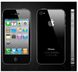 มือถือ iPhone 4S 32GB Black Model MD242TH