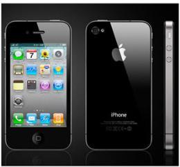 มือถือ iPhone 4S 64GB Black Model MD258TH