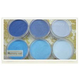 ผงปั้นนูน ปั้น3D ชุดเล็ก สีน้ำเงิน และ สีฟ้า A011-04