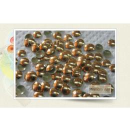 หมุดติดเล็บ กลม สีทองแดง A010-05