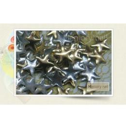หมุดติดเล็บ ดาว สีทอง A010-12