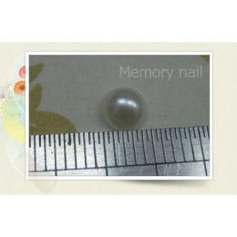 มุกติดเล็บ กลม สีขาว ขนาด 4 มิล A012-03