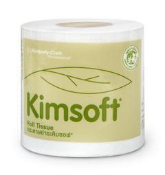 กระดาษชำระ KIMSOFT® ม้วนเดี่ยว