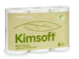 กระดาษชำระ KIMSOFT® 6 ม้วน