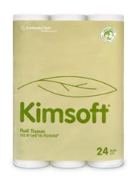 กระดาษชำระ KIMSOFT® 24 ม้วน