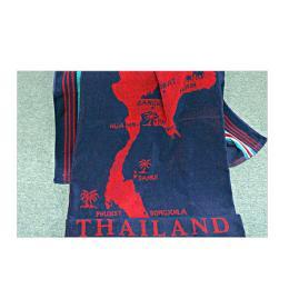 ผ้าชายหาดทอลาย แผนที่ไทย T821