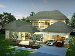 บ้านสำเร็จรูป แบบ Bali A-75