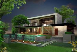 บ้านสำเร็จรูป แบบ Vogue G-68