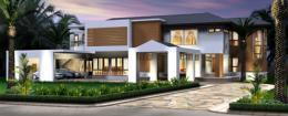 แบบบ้าน Modern Tropical Style 1
