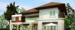 แบบบ้าน Modern Tropical Style 2
