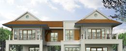 แบบบ้าน Modern Tropical Style 3