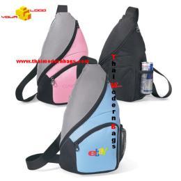 กระเป๋าสะพาย ทรงสามเหลี่ยม STB-004