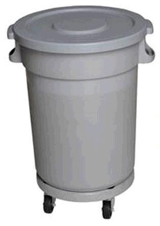ถังพลาสติกกลมเก็บขยะ TD-6115 - TD-6116