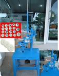 เครื่องห่อสบู่จีบ (Manual soap pleat pack machine)