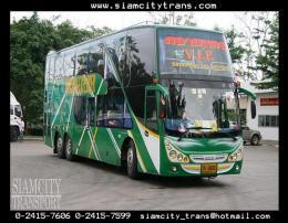 รถบัสปรับอากาศ 50 ที่นั่ง 8 ล้อ 2 ชั้น No.9