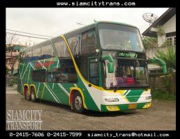รถบัสปรับอากาศ 50 ที่นั่ง 8 ล้อ 2 ชั้น No.14