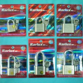 กุญแจชุบนิกเกิ้ล Rarlux