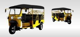 รถตุ๊กตุ๊ก TUK-TUK - 6S Classroom