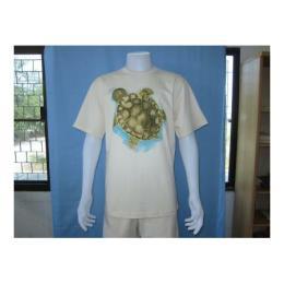เสื้อทีเชิ้ตสกรีนรูปเต่า 1090