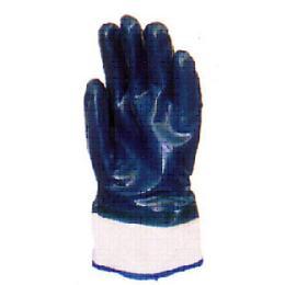 ถุงมือผ้าฝ้ายเคลือบยางไนไตรต่อข้อ