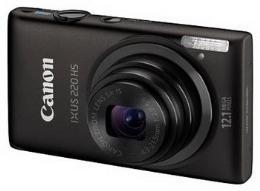กล้องถ่ายรูปดิจิตอล แคนนอน รุ่น IXUS-220HS/BKO PK11