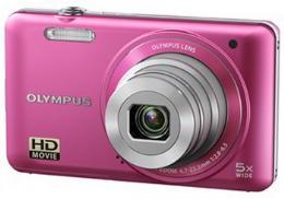 กล้องถ่ายรูปดิจิตอล โอลิมปัส รุ่น VG-130/PNK