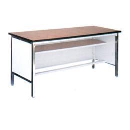 โต๊ะประชุมเหล็ก หน้าโฟเมก้าสีขาว รุ่น TM-72