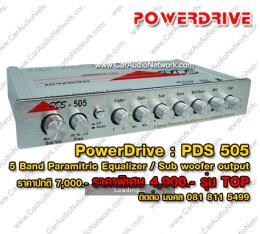 ปรีแอมป์รถยนต์ PDS 505 (5 Band) รุ่นTOP