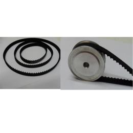 สายพาน timing belt ร่อง XL ( หน้ากว้าง 1 cm )