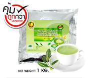 เครื่องดื่มธัญญาหารรสชาเขียว สูตรสาหร่ายสไปรูลิน่า แพ็ค 1 KG.