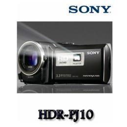 กล้องบันทึกวีดีโอ HDR-PJ10