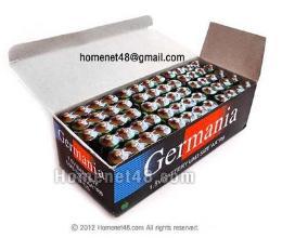 ถ่านเทสต์สินค้า AA Germania ยกกล่อง (60/Pack)