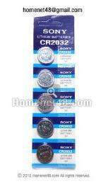 ถ่านกระดุมเมนบอร์ด Sony CR2032