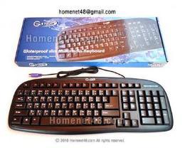 คีย์บอร์ด Slim Keyboard Gtech-536 ปุ่มนิ่ม