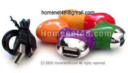 หัวต่อยูเอสบี USB HUB 4 Port