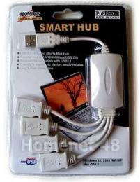 หัวต่อยูเอสบี USB HUB 2.0 (4 Port) Smart Hub