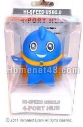 หัวต่อยูเอสบี USB HUB 4 Port Superdoll