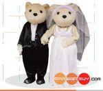 มาสคอตแท็ดดี้แต่งงาน MCT010