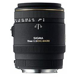 เลนส์ SIGMA MACRO 70mm F2.8 EX DG