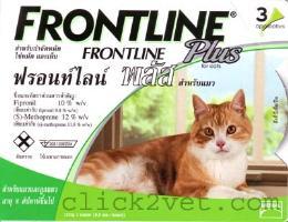 ฟรอนไลน์ พลัส สำหรับแมว (4 กล่อง)
