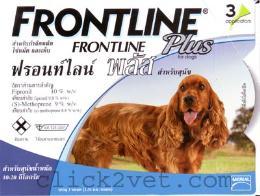ฟอร์นไลน์พลัส สำหรับสุนัขหนักไม่เกิน 10 กก. (4 กล่อง)