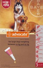 แอดโวเคด ด๊อก (3 x 2.5 ml ) สำหรับสุนัขน้ำหนัก 10-25 กก.