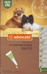 แอดโวเคด ด๊อก (3 x 0.4 ml ) สำหรับสุนัขน้ำหนักน้อยกว่า 4 กก