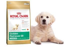 อาหารสุนัขพันธุ์พันธุ์โกลเด้นสูตรลูกสุนัข(อาหารเม็ดขนาด 12 กก.)