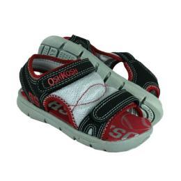 รองเท้าเด็ก Morgan 7 สีลายดำแดง