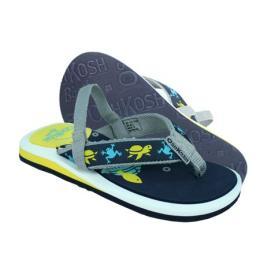 รองเท้าเด็ก Naples สีเหลืองลายดำ