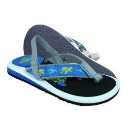 รองเท้าเด็ก Naples สีน้ำเงินลายดำ